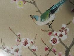 Selyemre festett Kinai festmény