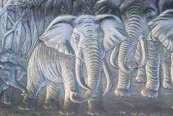 Arthur Court posztmodern elefántos tál ,tálca