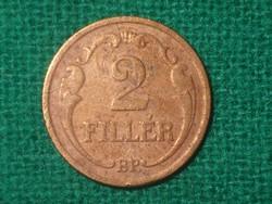 2 Fillér 1937 !