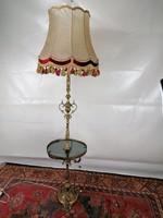 Réz állólámpa