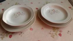 Apulum porcelán mély tányér, lapos tányér 2 db eladó!