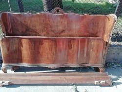Chippendale ágykeret olcsón - olasz bútor, 50-es évek