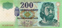 200 Forint 2001 FE - UNC