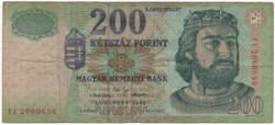 200 Forint 2002 FC - VF