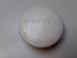 Retro Budapesti Illatszer és Kozmetikai Vállalat Harmat fehérítő szeplőkrém régi krémes doboz