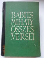Babits Mihály összes versei - régi, Athenaeum kiadás, 1942