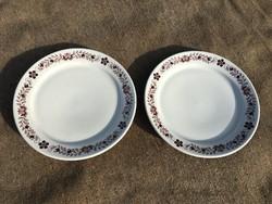 Alföldi lapos tányér 2db.