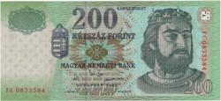200 Forint 2003 FC - UNC