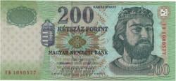 200 Forint 2005 FB - UNC