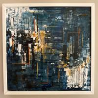 Modern absztrakt festmény
