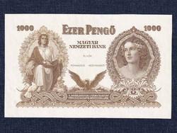 Szálasi Ferenc 1000 Pengő bankjegy 1943 tervezet (id12448)