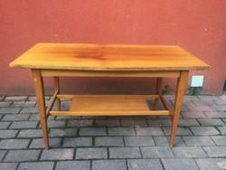 Retro rombusz alakú lakkos asztal dohányzóasztal kis asztal
