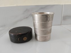 Ezüst tiszti pohár