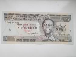 Etiópia  1 birr  2003 UNC további bankjegyek a kínálatomban