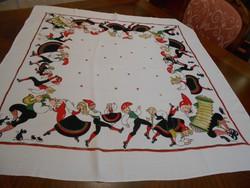 Asztalterítő 89x89 cm-es