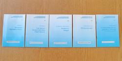 5 db. Privatizációs füzetek egyben - Állami vagyonügynökség