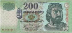200 Forint 2007 FB - UNC
