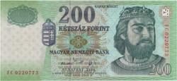 200 Forint 2006 FC - UNC
