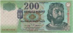 200 Forint 2002 FB - UNC