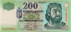 200 Forint 1998 FA - UNC