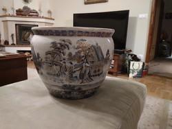 Nagyméretű porcelán kaspó