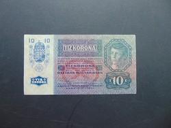 10 korona 1915  1264 Szép ropogós bankjegy !