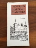 Repüljön MALÉV-val Madridba - Madrid várostérkép, túrista térkép