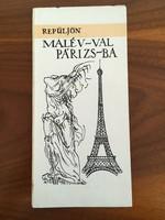 Repüljön MALÉV-val Párizsba - Párizs várostérkép, túrista térkép
