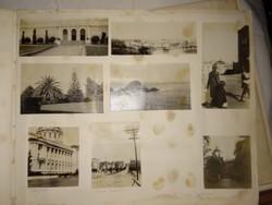 14 db antik fotográfia San Francisco, City Hall, California fotók