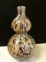 Muránói jellegű gyönyörű üveg váza
