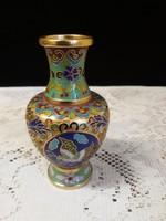 Rekeszzománc/Cloissoné/ váza