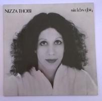 Nizza Thobi – Mir Lebn Ejbig LP bakelit lemez