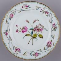 Herendi Antik virágmintás lapostányér 1910-ből I.
