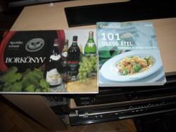 101 olcsó étel  a Borkönyv a bónusz