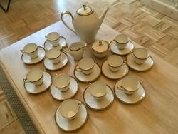 Eschenbach Bavaria porcelán kávés készlet