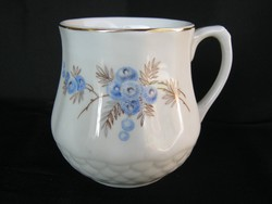 Drasche porcelán csupor pocakos hasas bögre