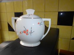 Art deco cseh porcelán cukortartó