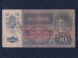 Osztrák-Magyar (1912-1915 sorozat) 10 Korona bankjegy 1915 / id 11752/