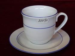 Stella német porcelán 96120 BISCHBERG teás/kávéscsésze + alátét.