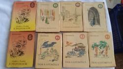3 FORINTOS KÖNYVEK Szépirodalmi Könyvkiadó Olcsó Könyvtár sorozata 1964