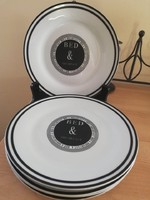 angol reggeliző tányérok.5 db