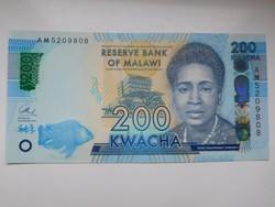 Malawi 200 kwacha 2016 UNC