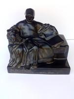 Mack Lajos nagyon ritka Anonymus szobor