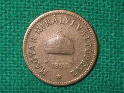 2 Fillér 1893 !