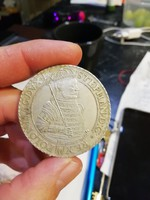 Báthory István 1583 ezüst érme (utánveret)