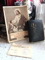 Jézus szíve naptár 1944 + Énekes könyv + Teajegy