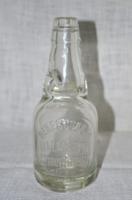 Nem hétköznapi méretű régi, golyós szódásüveg
