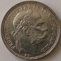 ★1896 Ferenc József 1 Korona KB★