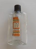 Retro KHV DO DY kölnis üveg régi parfümös