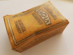 Régi Baeder CAOLA szappanos doboz